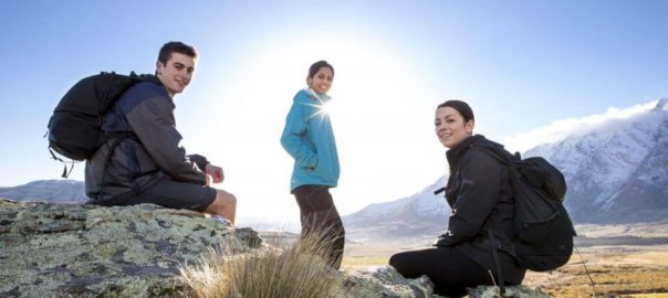 Students in Queenstown
