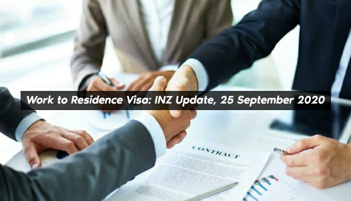 work to residence visa nz