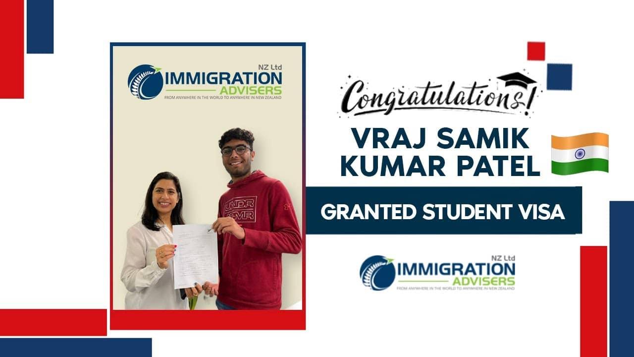 Granted Onshore Student Visa