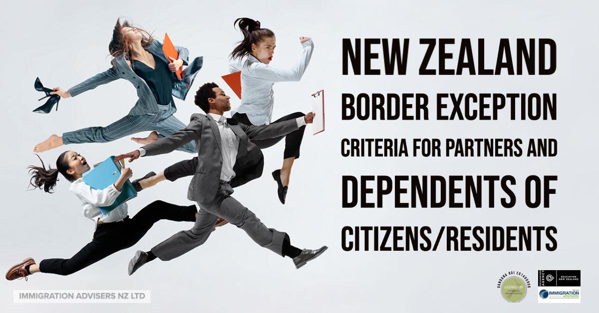 new zealand dependent visa