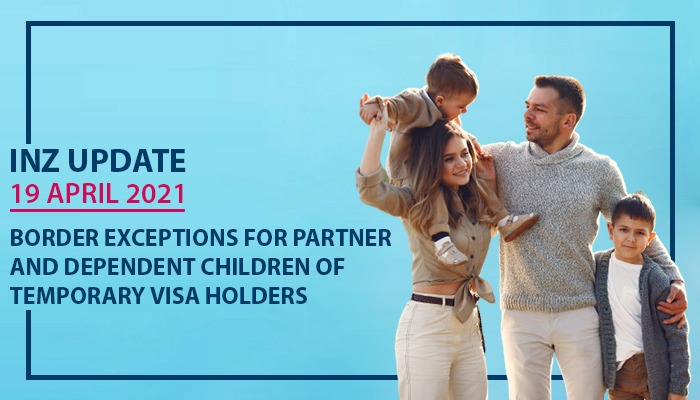 Partner and Dependent Children Of Temporary Visa Holder