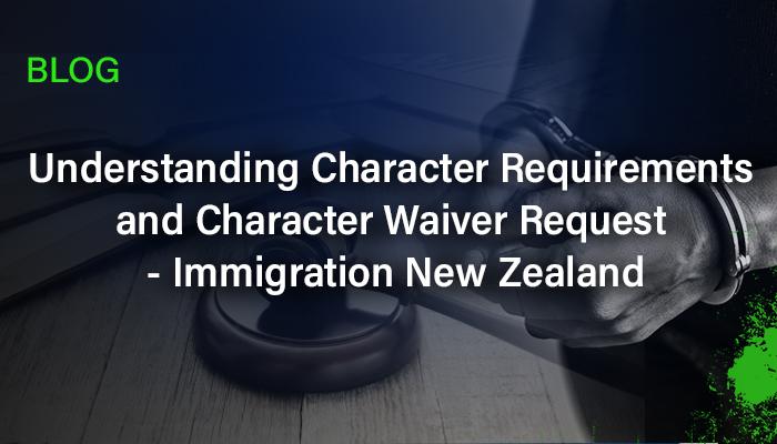 NZ visa application