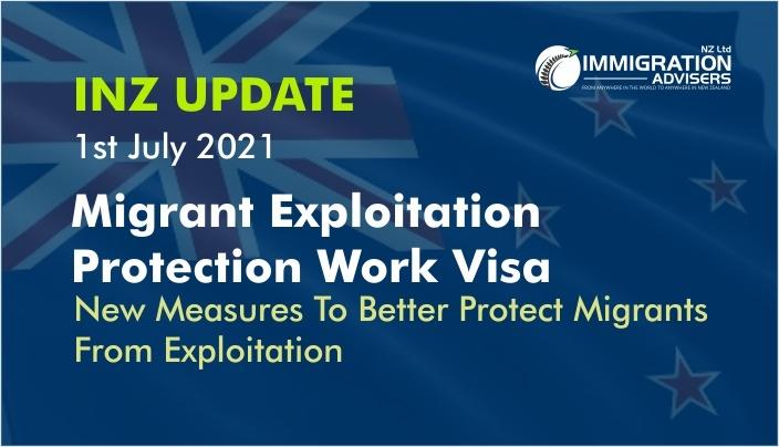 Migrant Exploitation Protection Work Visa
