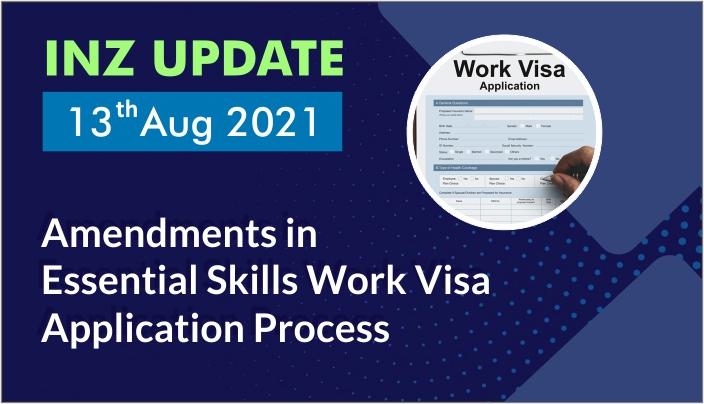 Essential Skills Work Visa