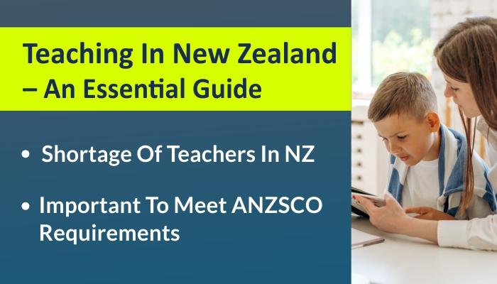 Teaching Career In New Zealand