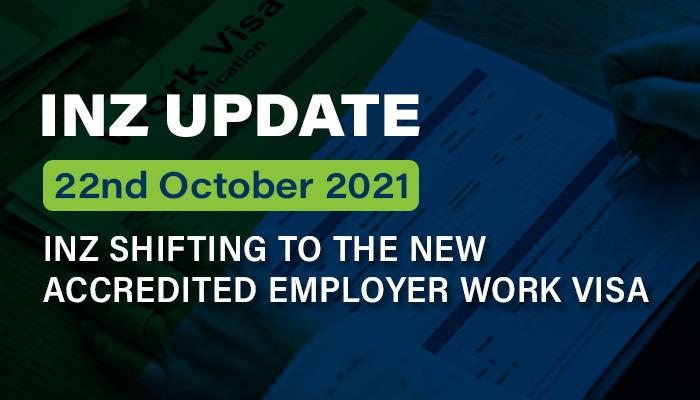 New Accredited Employer Work Visa